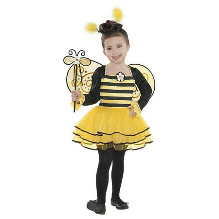Ballerina Bug Child Costume Bumblebee - Small - Bumblebee Costume Kids