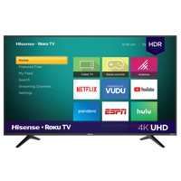 Deals on Hisense 58R6E 58-inch 4K Ultra HD HDR Roku Smart LED TV