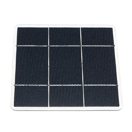 DIY Small Size Solar Panels 5W 1.5V ETFT Honeycomb Surface 25 Percent Conversion Rate Solar Panel System for Car RV (Best Rated Solar Panels)