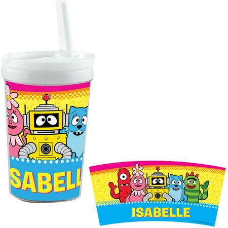 Yo Gabba Gabba Stickers (Personalized Yo Gabba Gabba Playtime Pals Sippy)