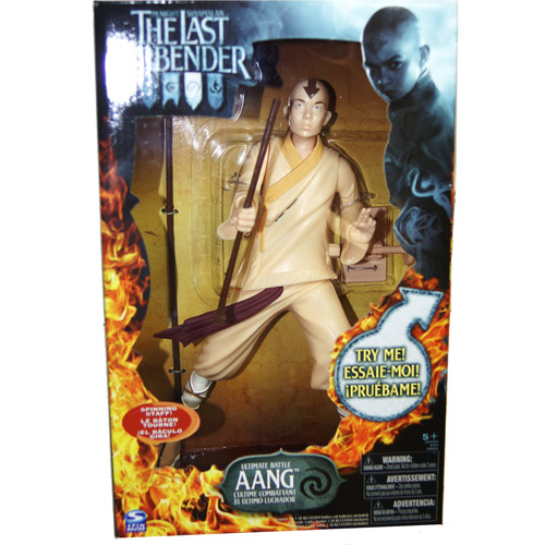 The Last Airbender Ultimate Battle Aang Action Figure by