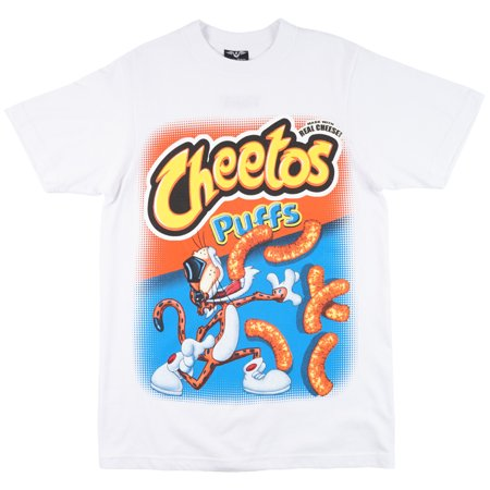1f9bcaba6 3FORTY - Puffy Chips Parody T-Shirt White Mens - Walmart.com