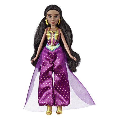 Disney Princess Jasmine Fashion Doll with Accessories, Ages 3 and up