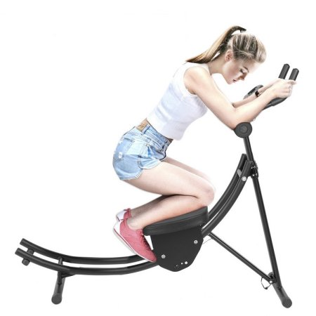 Ab Coaster, Folding Sports Abdominal Roller Coaster Home ...