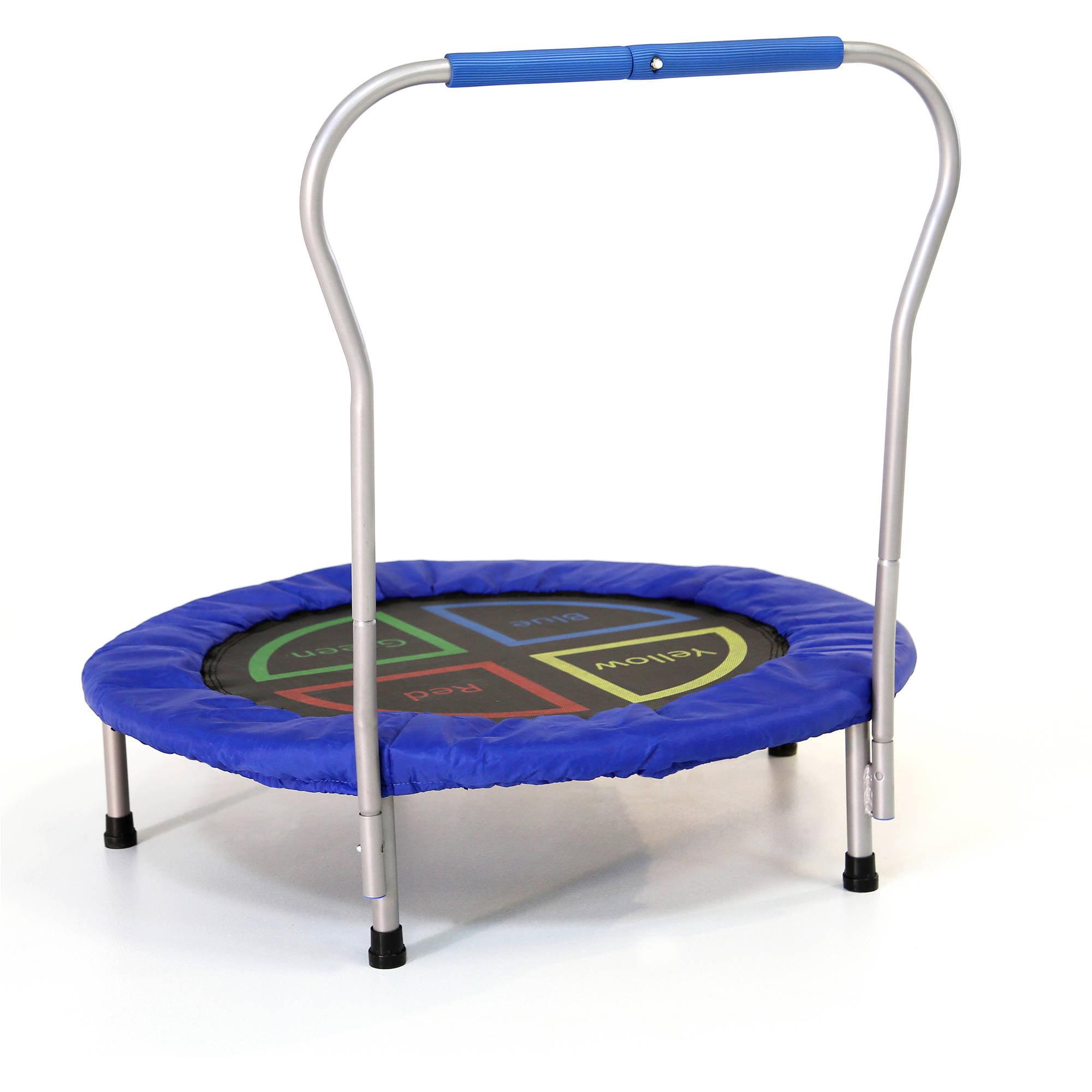 Bounce n learn interactive kids trampoline by skywalker 38 for Skywalker trampoline