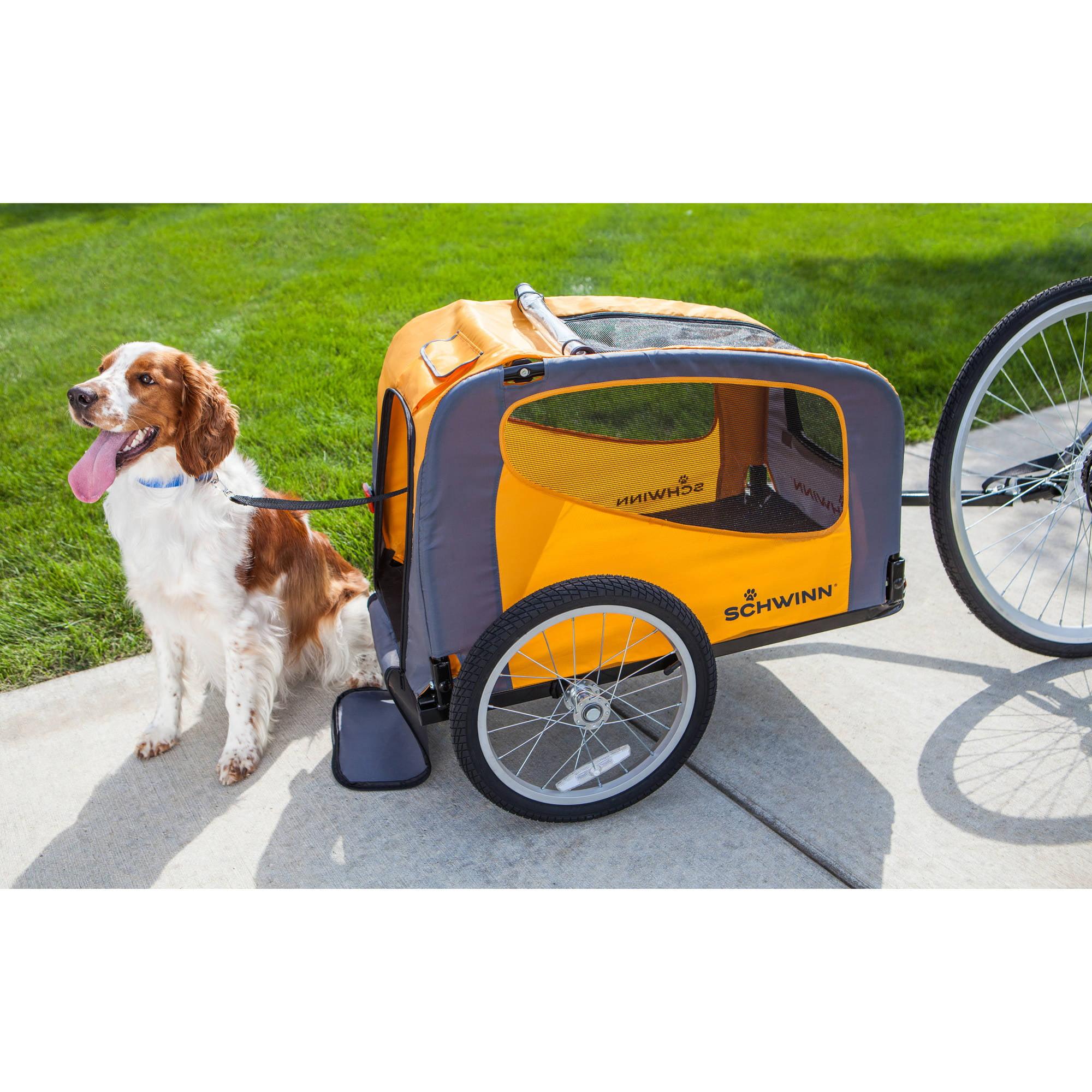Schwinn Rascal Bike Pet Trailer, Orange - Walmart com