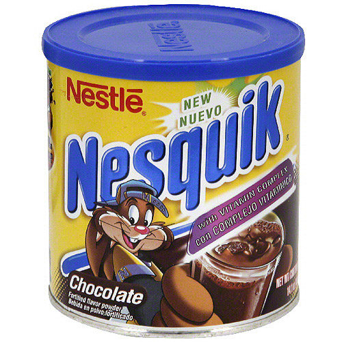 Nestle Nesquik Chocolate Drink Mix, 14.1 oz (Pack of 12)