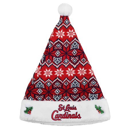 St. Louis Cardinals Knit Santa Hat - No Size (Knit Santa Hat)
