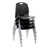 Academic Stack Chair -Black