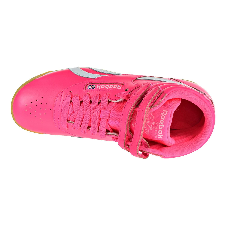 2d57348001475 Reebok - Reebok Freestyle HI SU Women s Shoes Acid Pink White cn7150 -  Walmart.com