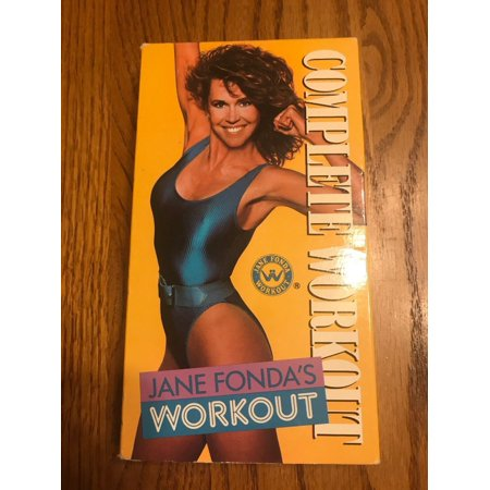 Jane Fonda Complete Workout VHS Video Tape RARE Ships N 24h (Rare Vhs Tapes)