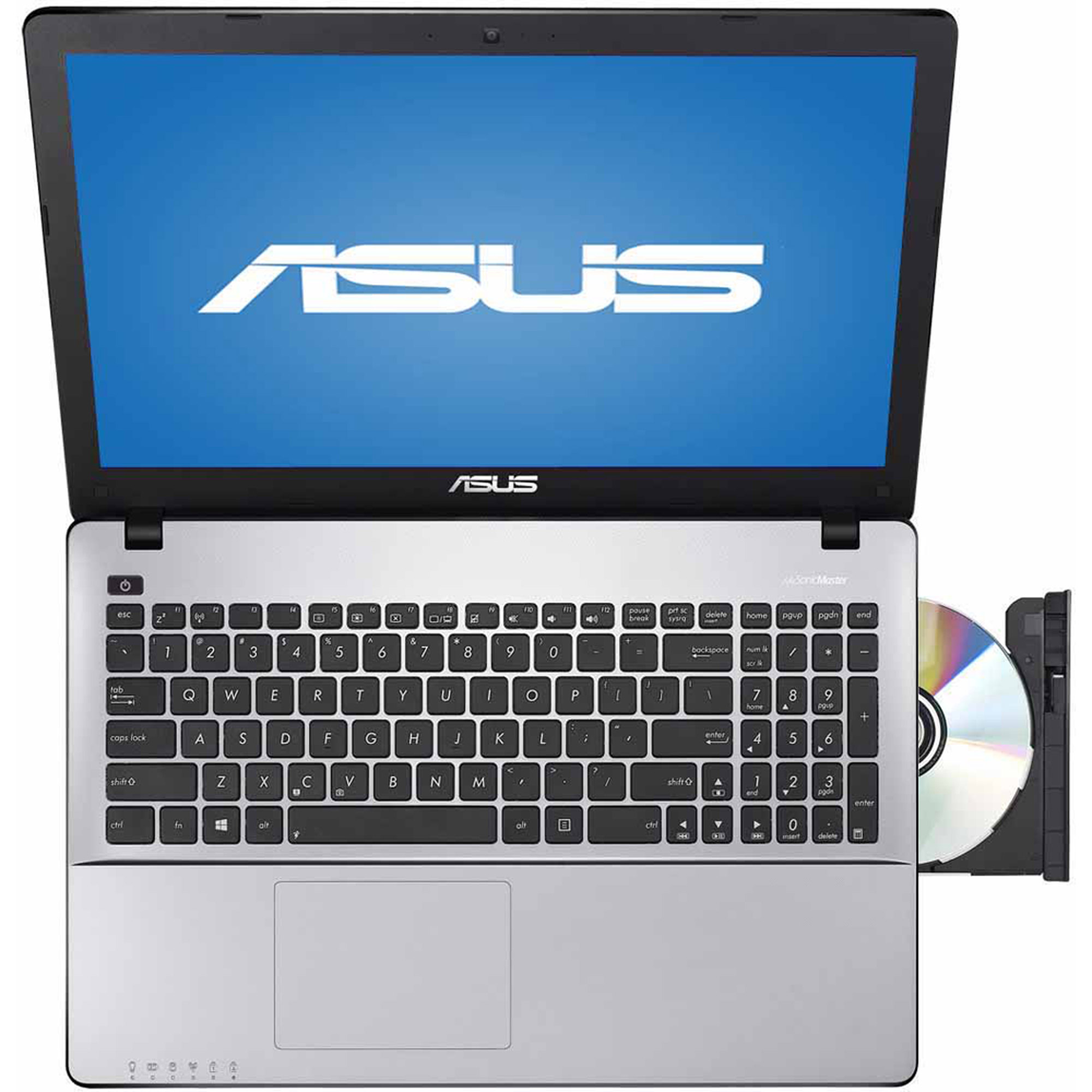 Refurbished ASUS Silver RBX550LA-SI50402W Laptop PC with Intel Core i5-4200U Dual-Core Processor, 4GB Memory, 500GB Hard Drive and Windows 8