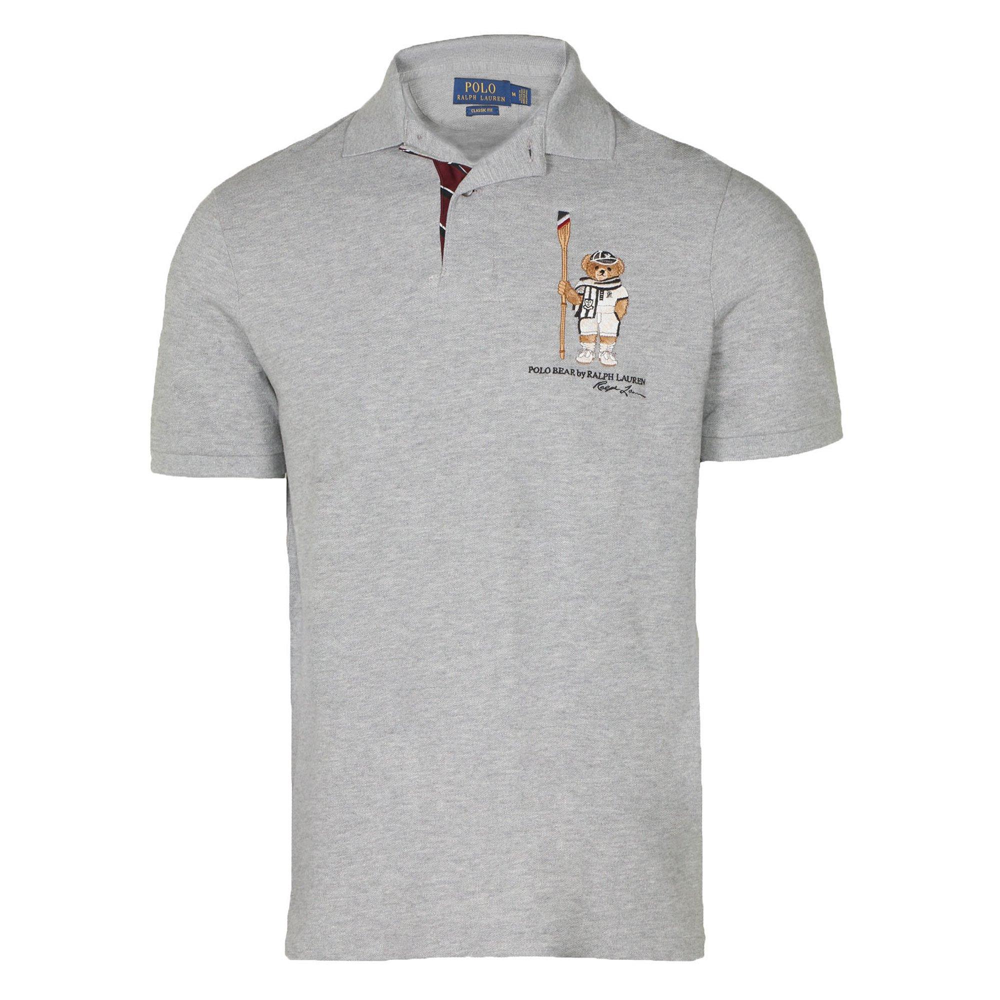 Limited Buy Ralph Polo Bear Shirt Men's Htrgrey Laurens m0vnwN8