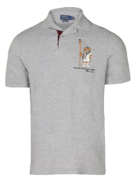c97fd27e0c5 Product Image Polo Ralph Laurens Men s Limited Polo Bear Polo  Shirt-HtrGrey Boathouse. Ralph Lauren