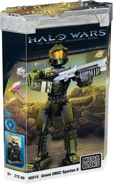 Halo Green UNSC Spartan II Set Mega Bloks 96816 by Mega Brands