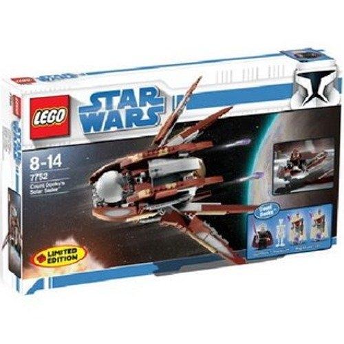 Lego Star Wars Set #7752 Clone Wars Count Dooku's Solar Sailer