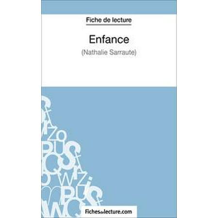 Enfance De Nathalie Sarraute Fiche De Lecture Ebook
