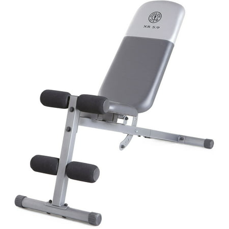 Gold's Gym XR 5.9 Adjustable Slant Workout Weight
