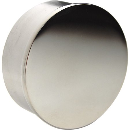 Flush Flat End Cap - Polished Stainless Steel - 2