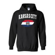 Unisex Kansas City Missouri Hoodie Sweatshirt