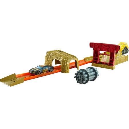 Rage Wheels (Hot Wheels Bulldoze Blast Stunting & Launching Race Trackset)