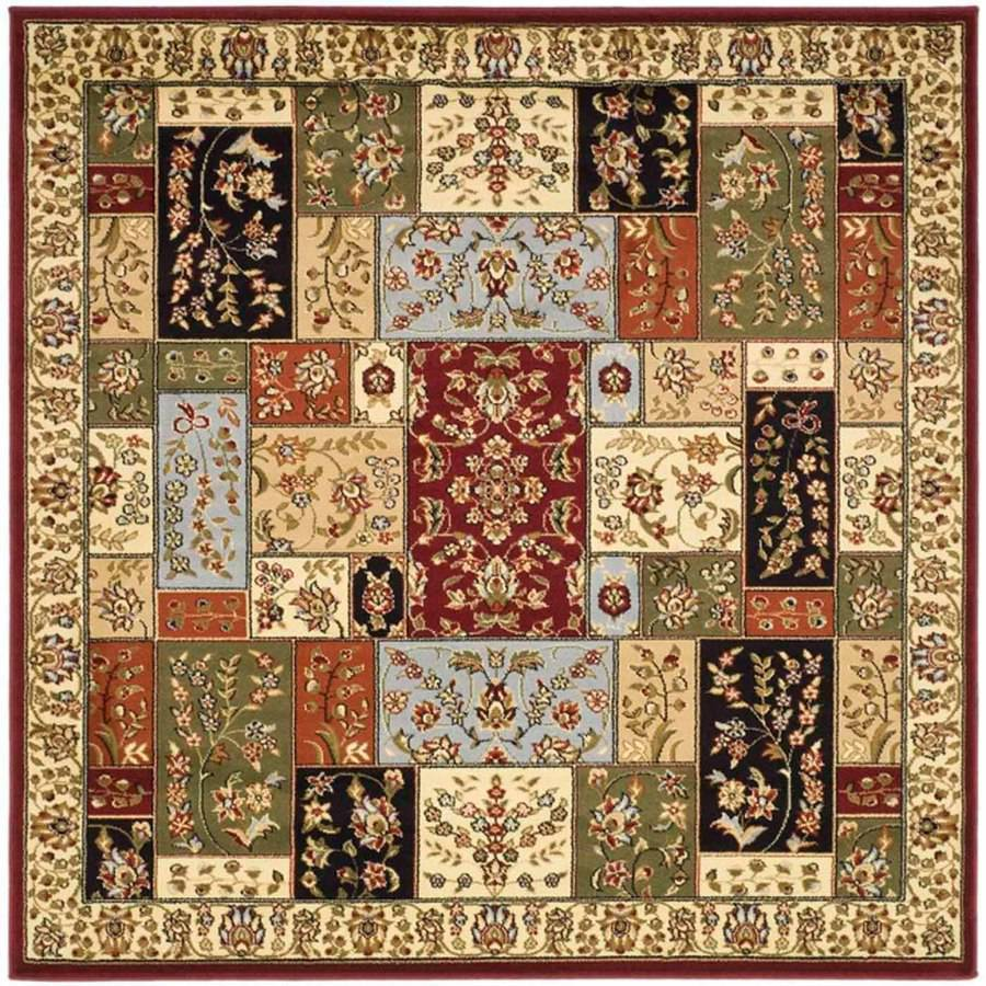 Safavieh Lyndhurst Edith Polypropylene Area Rug, Multi-Color/Ivory