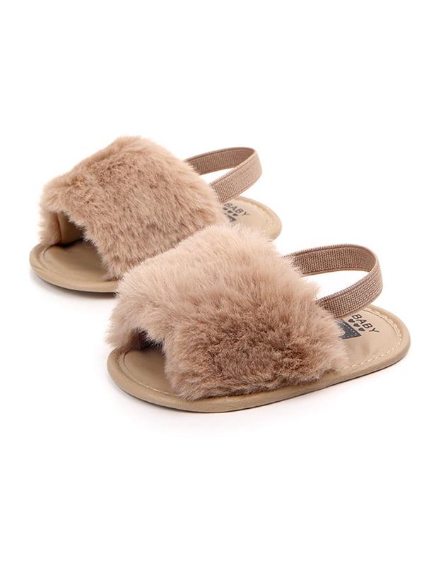 weefy - Newborn Baby Girls Flat Sandals
