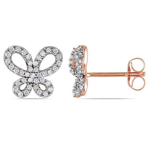 Amour Diamonds Stud Earrings