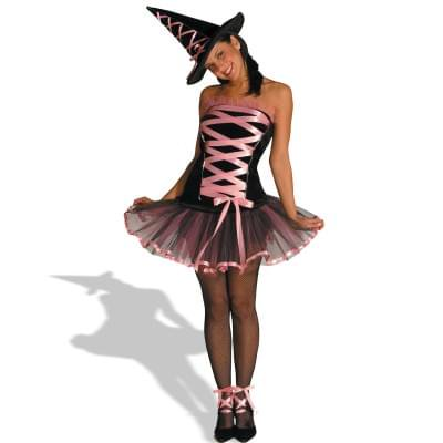 Witchy la Bouf Pink Teen Costume - Nba Costumes