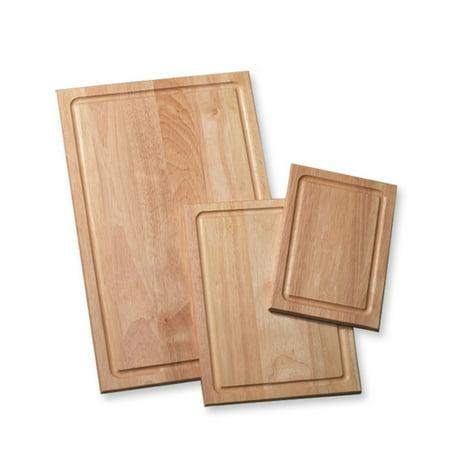 Farberware Three Piece Wood Utility Cutting Board Set Olive Wood Cutting Board