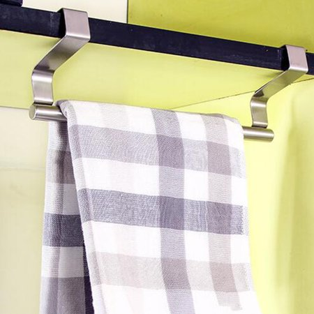 Jeobest Over Cabinet Door Towel Bar - Kitchen Over Cabinet Towel Bar -  Kitchen Towel Bar for Cabinet - Kitchen Bathroom Towel Bar Rack Holder  Kitchen ...