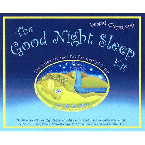 The Good Night Sleep Kit with Cards and Other and CD (Audio)