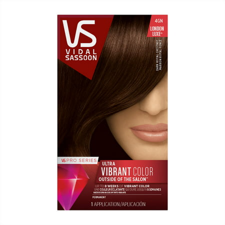 Vidal Sassoon Pro Series Hair Color, 4GN Dark Royal (Best Vibrant Purple Hair Dye)