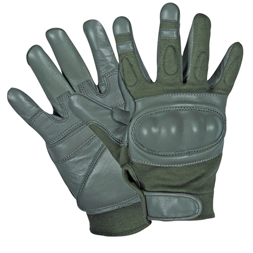 GEN II HARD KNUCKLE ASSAULT GLOVE - OLIVE DRAB M