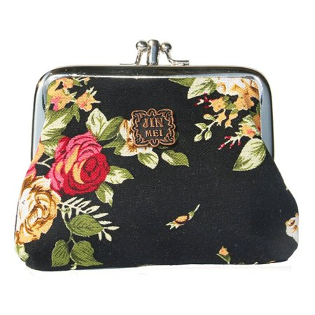 e46056df35c9 MJEWELRYGIFT - Cute Floral Buckle Coin Purses Vintage Pouch Kiss ...