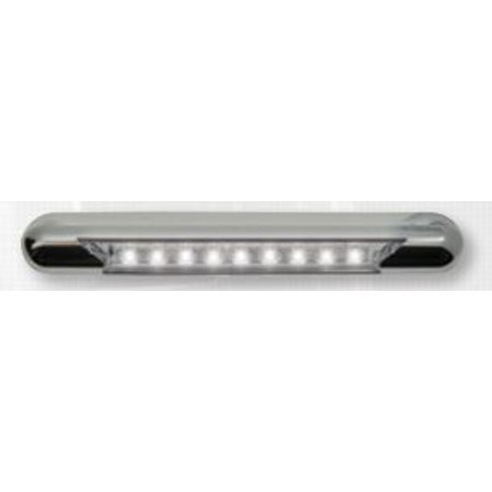 Optronics Ill70cbawn Awning Light Opti Brite Tm Led Awning Strip Light 11 Inch Length White 12 Volt Chrome Housing Without Switch Walmart Canada