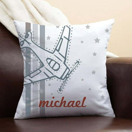 Personalized Vintage Airplane (Best Airplane Pillows)