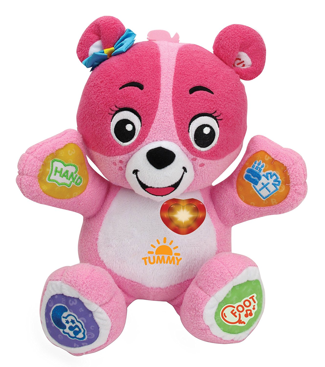Cora The Smart Cub Plush Toy, Pink, Lovable plush learning companion for your child By... by
