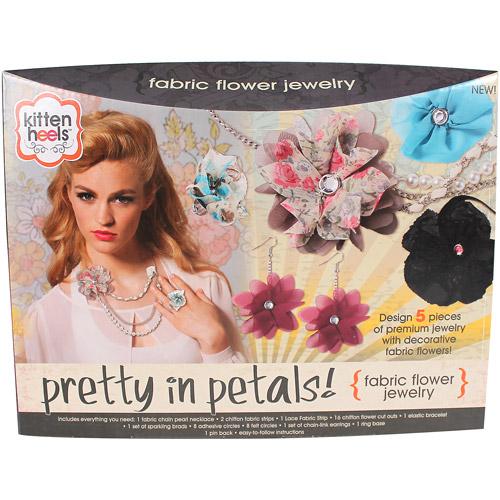 Kitten Heels Jewelry Making Kit -  Pretty in Petals Kit