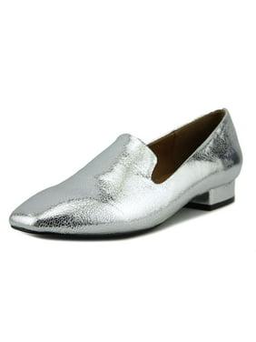 Design Lab Womens Sammy Square Toe Loafers