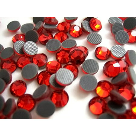 10ss Crystal (10,000pc bulk 3mm 10ss RED Crystal Loose Rhinestone Hot Fix from ThreadNanny )