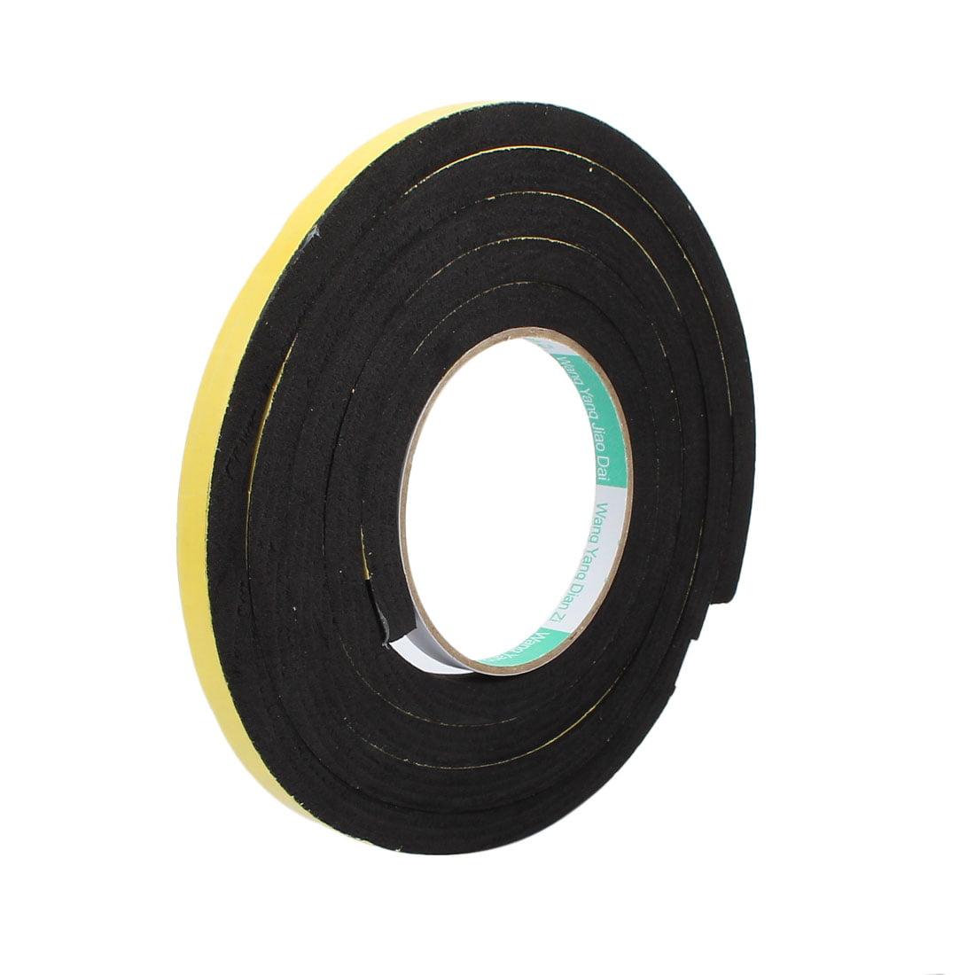 10mm Width 10mm Thickness Single Side Shockproof Sponge Foam Tape 2M Length - image 3 de 3