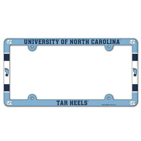 North Carolina Tar Heels WinCraft Plastic License Plate Frame - No Size ()