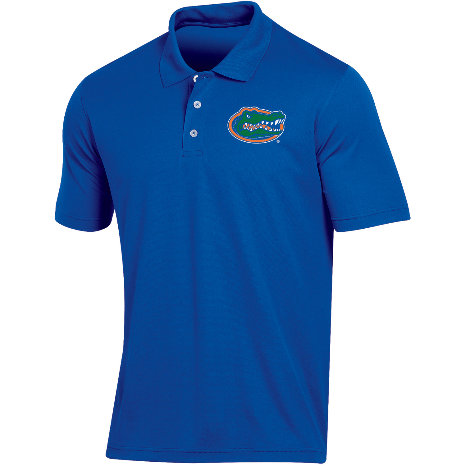 Men's Russell Royal Florida Gators Classic Fit Synthetic Polo