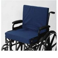 Wheelchair Cushion With Back Seat