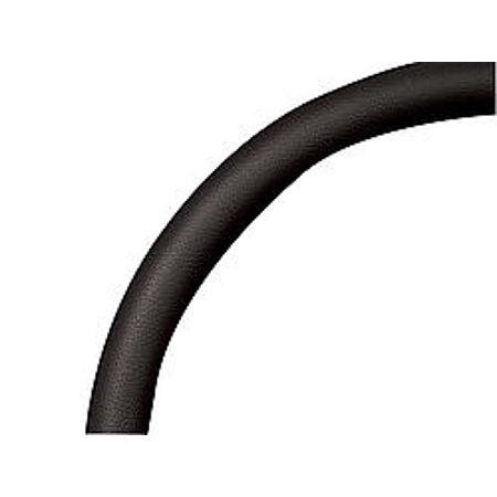 BILLET SPECIALTIES 33008 Steering Wheel Covers Half Wrap Ring For 15.5in Wheel Black Leath