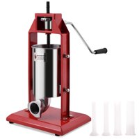 Costway 3L Vertical Sausage Stuffer Meat Maker Filler 7 lbs Stainless Steel Commercial