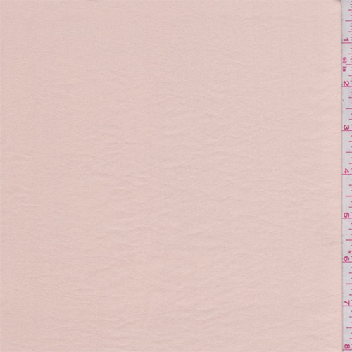 Whisper Pink Satin, Fabric By the Yard