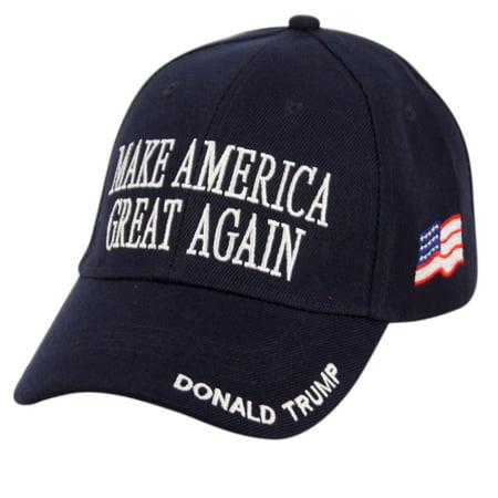 Donald Trump Make America Great Again Hats Embroidered - Walmart.com 822790a4fd60