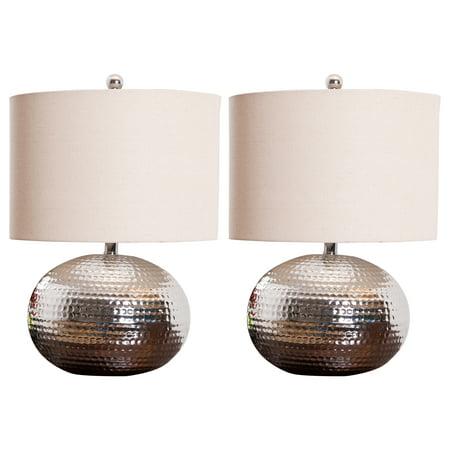 Devon & Claire Topanga Glass Orb Table Lamp (Set of